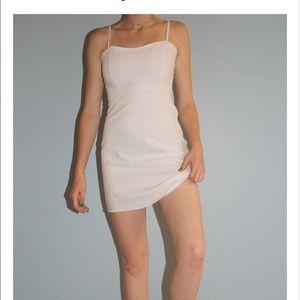 Brandy Melville Karla dress in light pink